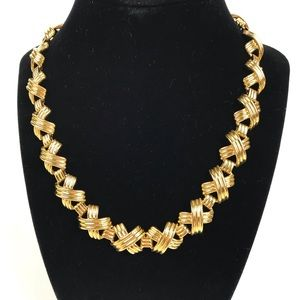 Vintage | Chunky Gold Tone Chain Necklace